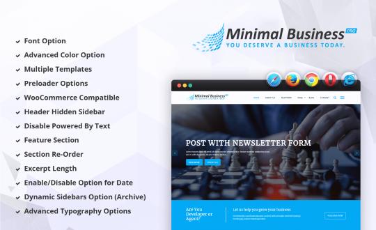 Minimal Business Pro