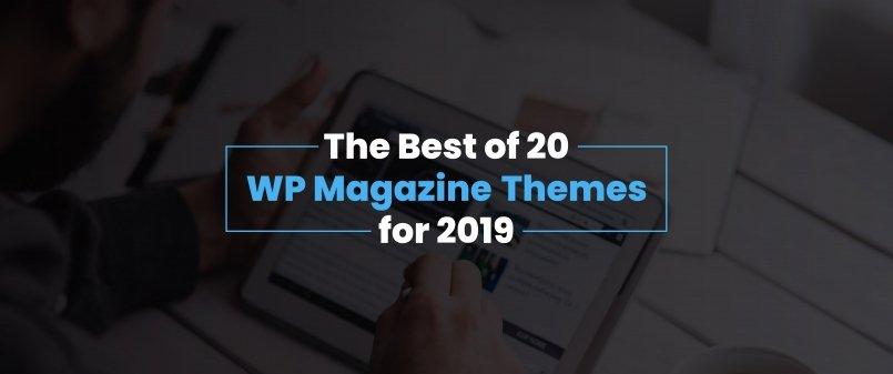 Top 20 WP Magazine Themes