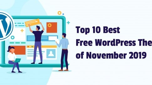 Top 10 Best Free WordPress Themes of November 2019