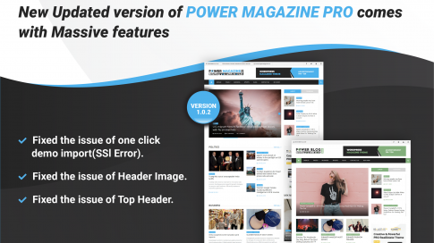 Power Magazine Pro Update