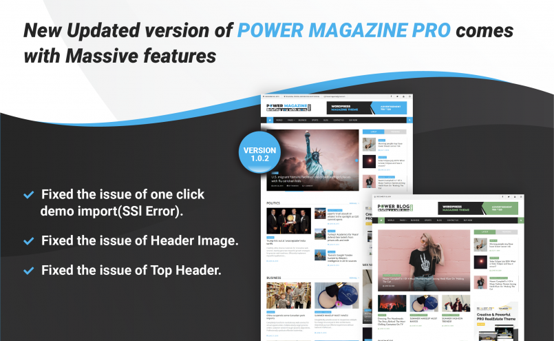 Power Magazine Pro Update