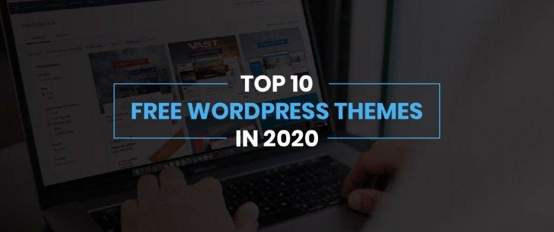 Top 10 Free WordPress Themes in 2020