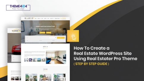 Stepwise guidelines to get Real Estate website using Real Estater Pro